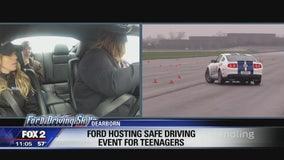Ford hosts safe driving event for teens ahead of prom