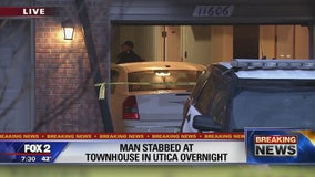 Stabbing near townhouse garage investigated in Utica