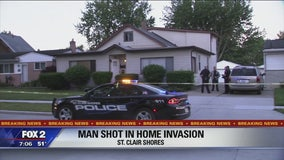 21-year-old shot during home invasion in St. Clair Shores
