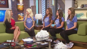 Detroit cheerleaders to make official debut Sunday