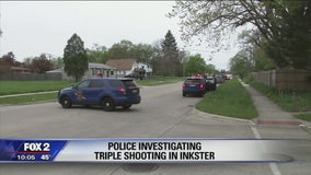 Triple shooting, 1 person shot in face