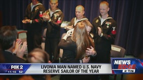 Livonia sailor named United States Reserve Sailor of the Year