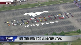 Ten millionth Mustang rolls off Ford assembly line