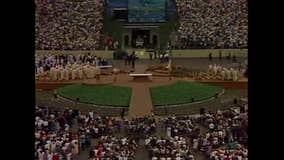 Pope John Paul II 30th anniversary trip to Silverdome