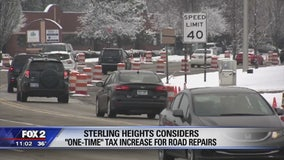 Sterling Heights considering one-time tax increase to fix roads