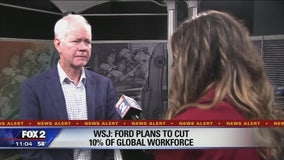 Reported Ford cuts inevitably affecting southeast Michigan, expert warns