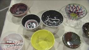 Empty Bowls fundraiser for Cass Community Social Services