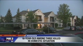10-year-old boy among those killed in Woodhaven domestic situation