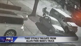 Thief steals tailgate from Allen Park man's truck