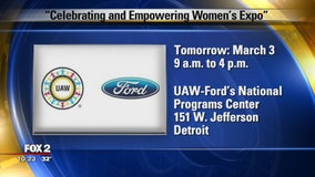 UAW-Ford's Celebrating and Empowering Women's Expo March 3