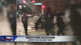 Four men suspected in Greektown beating due in court Thursday