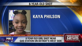 8-year-old girl shot on Detroit's west side: police