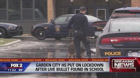 Bullet found in Garden City school prompts lockdown