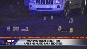 Neighbor in custody after 1 injured in Highland Park shooting