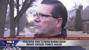 Barricaded situation in Grosse Pointe ends peacefully