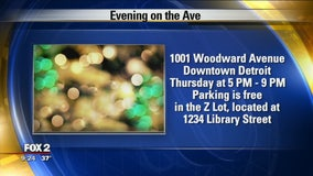 Evening on the Avenue shopping event Dec. 8
