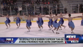 Dearborn Crystallettes to represent Team USA at World Synchronized Figure Skating Championship