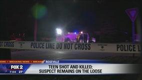 Teen dies in neighborhood shooting in Roseville