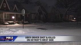 Man shot during Uber shift in Detroit