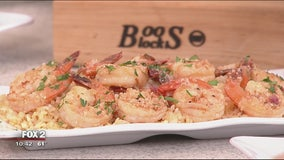 Montage Grill's easy breezy Mediterranean shrimp recipe