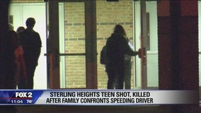 High school grapples with shooting death of honor student by speeding driver