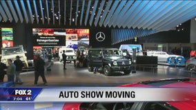 Detroit auto show will be in June starting in 2020