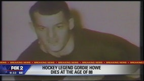 Red Wings legend Gordie Howe dies at 88