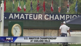 U.S. Amateur Championship happening in Bloomfield Hills this week