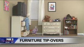 Preventing child injury, death from falling furniture
