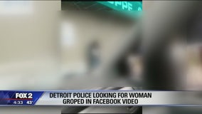 Detroit police looking for woman possibly groped in video outside liquor store