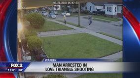 Neighbor dispute in Warren leads to shooting, arrest