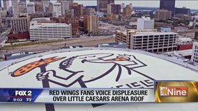 Little Caesars Arena roof dispute