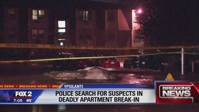 Woman killed, man hurt during apartment break-in in Ypsilanti