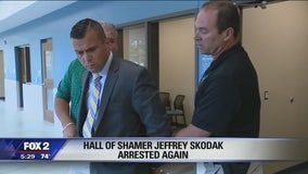 Hall of Shamer Jeff Skodak arrested after court hearing