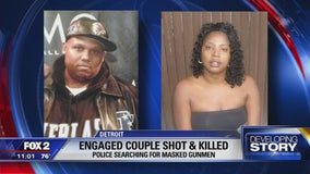Engaged couple shot to death at home on Detroit's west side