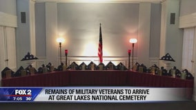 Memorial service for veterans whose remains were found at Cantrell Funeral Home