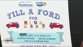 Fill a Ford truck for kids in Ypsilanti June 10