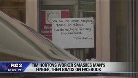 Angry employee accused of breaking customer's finger in drive-thru window