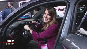 Deena picks out her 'cool Mom cars' at the auto show