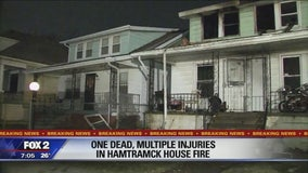 Toddler dies in house fire in Hamtramck