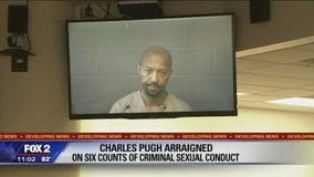 Pugh arraigned in Detroit, bond set at $500,000