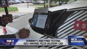 Delivery without drivers? Domino's, Ford team up for pizza delivery test