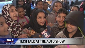 Trip to NAIAS is fun for the whole family