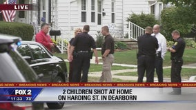Two children shot by child at Dearborn home