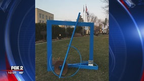 Royal Oak residents ask for art removed from Veteran's Memorial
