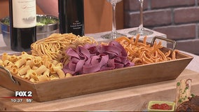 Testabarra celebrating National Pasta Month