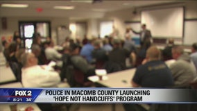 Free addiction program launching at all police stations in Macomb County