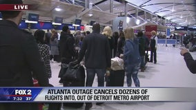 Detroit feels effects of Atlanta airport power outage