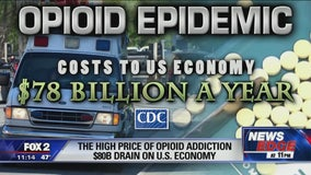 How the opioid epidemic costs the US economy $80B a year