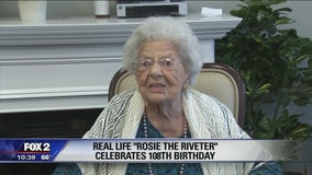 Rochester Hills 'Rosie the Riveter' celebrates 108th birthday
